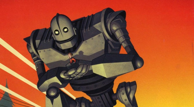 Cinema-Maniac: The Iron Giant (1999) Movie Review