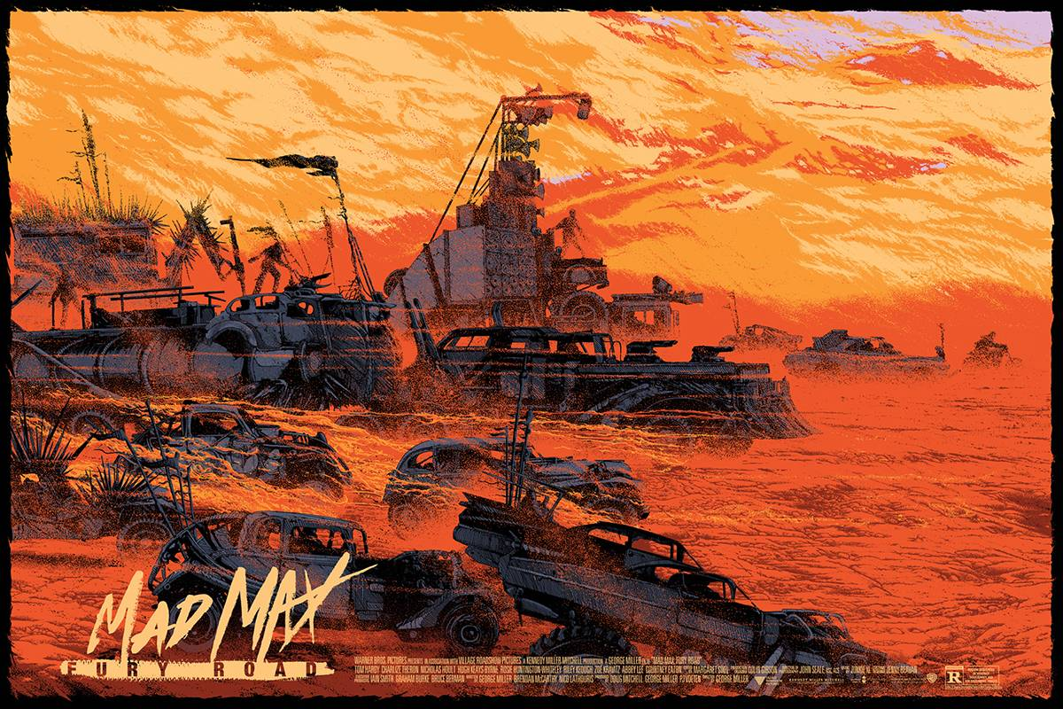 Cinema Maniac Mad Max Fury Road Personafication