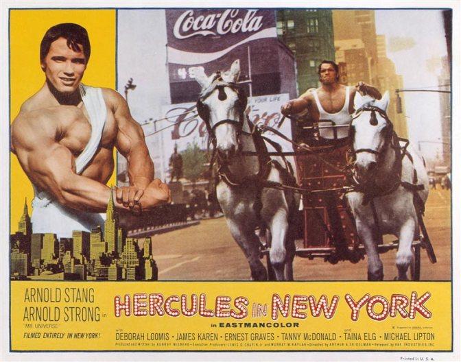 Cinema-Maniac: Hercules in New York (1975) Review