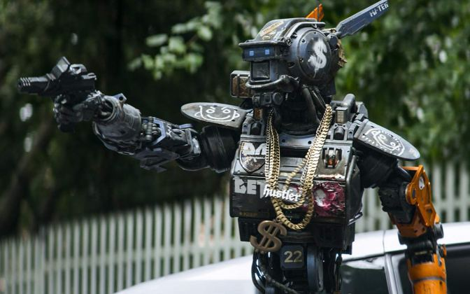 Cinema-Maniac: Chappie (2015) Review