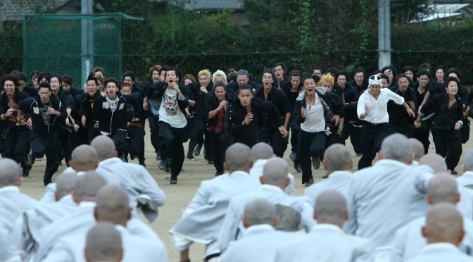 Cinema-Maniac: Kurôzu zero II (Crows Zero II) (2009) Review