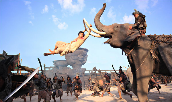 Cinema-Maniac: Ong Bak 3 (2011) Review