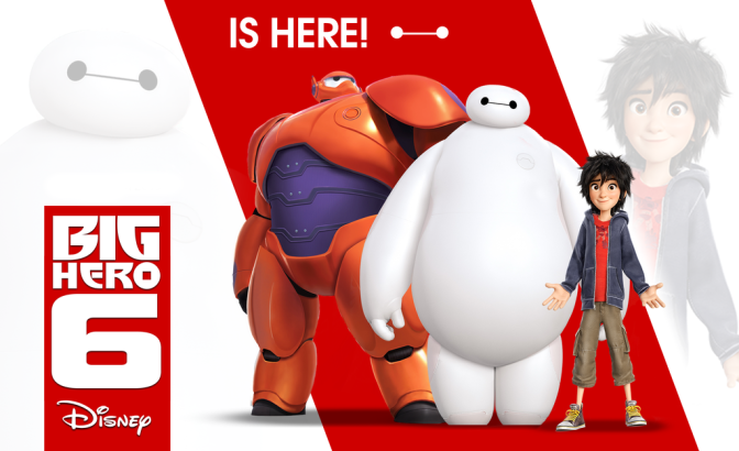 Cinema-Maniac: Big Hero 6 (2014) Review