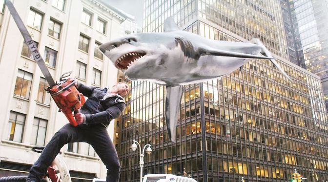 Cinema-Maniac: Sharknado 2: The Second One (2014) Review