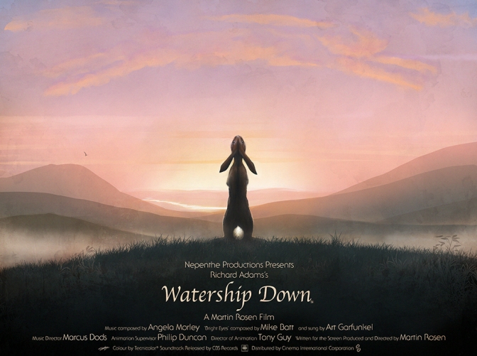 Cinema-Maniac: Watership Down Review