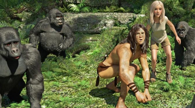 Cinema-Maniac: Tarzan (2014) Review