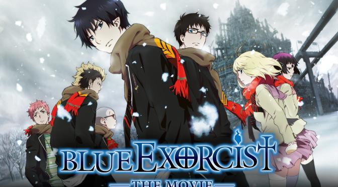 Cinema-Maniac: Blue Exorcist The Movie (2013) Movie Review
