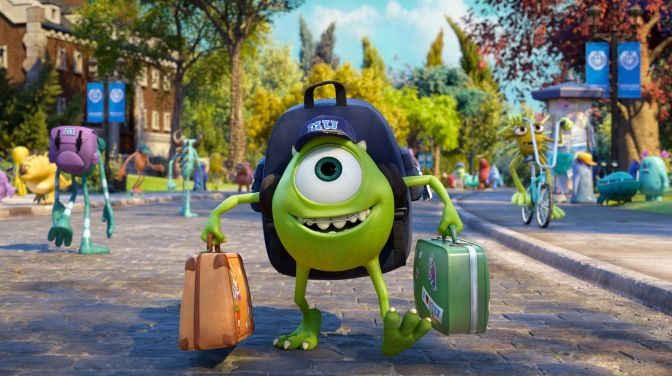 Cinema-Maniac: Monsters University (2013) Movie Review