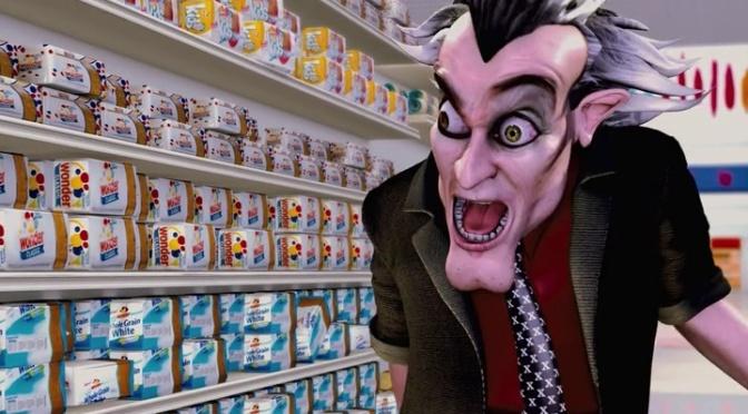 Cinema-Maniac: Foodfight!(2012) Movie Review
