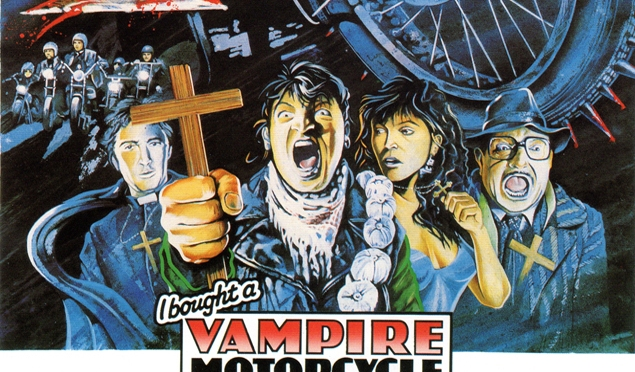 Cinema-Maniac: I Bought a Vampire Motorcycle (1989) Movie Review